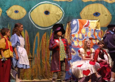 the hatter at the trial of alice
