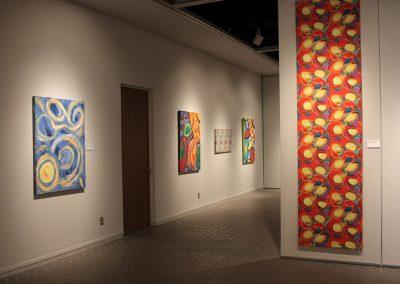 photo of mendoza's artworks