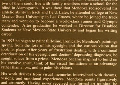George Mendoza biography